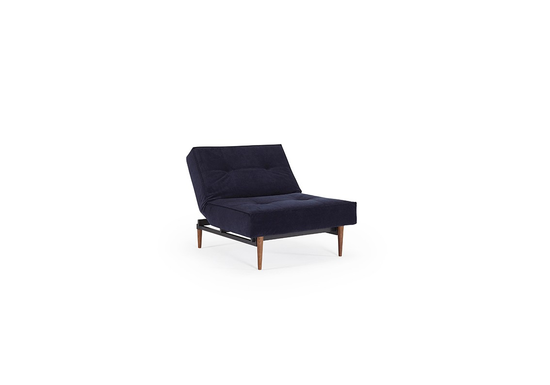 Splitback Dark Styletto chair